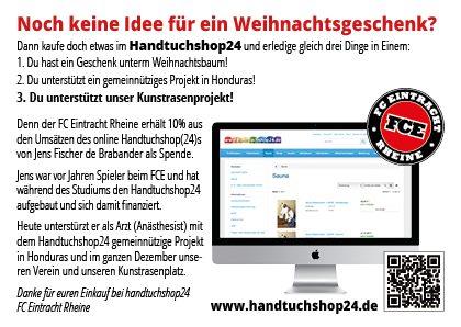 Wir unterstützen den FC Eintracht Rheine - Wir unterstützen den FC Eintracht Rheine