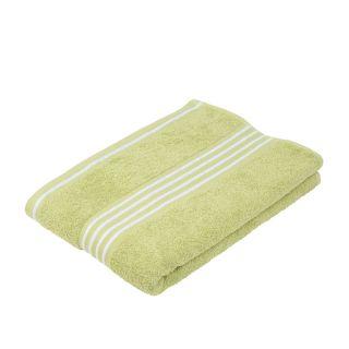 """Gözze Duschtuch """"Rio 2"""" farbiges Tuch limone mit weißen Streifen"""
