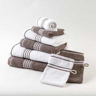 """Gözze Handtuch """"Rio 2"""" farbiges Tuch mit weißen Streifen"""