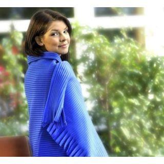 Gözze STOLA  Fleece-Decke in Cordoptik 100x150cm